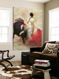 San Miguel, Bullfight 2 Prints by Doug Landreth