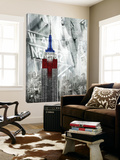 Patriotic Empire State Print by  GI ArtLab