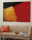 Le rouge et le noir Print by Diane Lambin