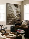 Sailing in Sepia A Affiches par  GI ArtLab