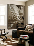 Sailing in Sepia A Prints by  GI ArtLab