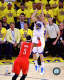 Klay Thompson 3 Point Shot from Game 5 of the 2015 Conference Finals Photo
