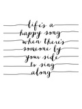Lifes a Happy Song Prints by Brett Wilson