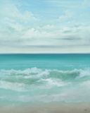 Aqua Marine Posters by Kc Haxton