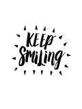 Keep Smiling Print by Brett Wilson