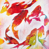 Koi Pond Prints by Liz Jardine