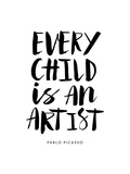 Every Child is an Artist Posters by Brett Wilson