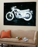 Moto White Art by JB Hall