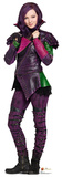 Mal - Disney Descendants Lifesize Standup Cardboard Cutouts