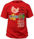 Woodstock - Poster T-Shirt