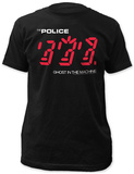 The Police - Ghost in the Machine T-shirts