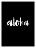 Aloha BLK Art by Brett Wilson