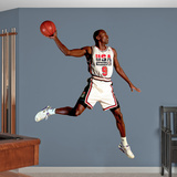 Michael Jordan 1992 Dream Team Air Wall Decal