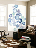Watercolor Hexagons B Posters by Natasha Marie