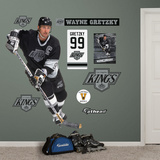 Wayne Gretzky Kings Legend Wall Decal