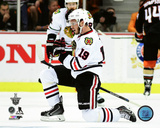 Jonathan Toews Goal Celebration Game 7 of the 2015 Western Conference Finals Photo