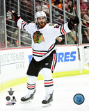 Brandon Saad Goal Celebration Game 7 of the 2015 Western Conference Finals Photo