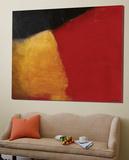 Le rouge et le noir Prints by Diane Lambin