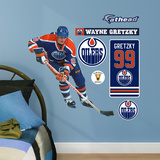 Wayne Gretzky Oilers Legend Fathead Jr. Wall Decal