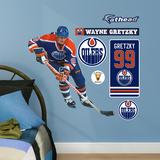 Wayne Gretzky Oilers Legend Fathead Jr. Wall Decal