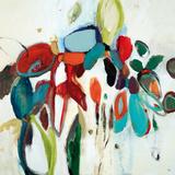 Floral Hints Prints by Lisa Ridgers
