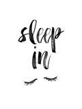 Sleep In Poster autor Brett Wilson