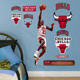 Michael Jordan Layup Fathead Jr. Wall Decal