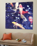 Koi 2 Prints by Thea Schrack