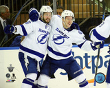 Nikita Kucherov & Ondrej Palat Goal Celebration Game 7 of the 2015 Eastern Conference Finals Photo
