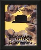 Marcello Dudovich (Borsalino Vintage Ad) Art Poster Print Poster