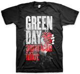 Green Day Smoke Screen T-shirts