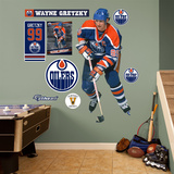 Wayne Gretzky Oilers Legend Wall Decal