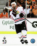 Brent Seabrook Goal Celebration Game 7 of the 2015 Western Conference Finals Photo