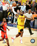LeBron James Dunk from Game 4 of the 2015 Eastern Conference Finals Photo
