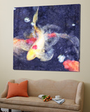 Koi 3 Posters by Thea Schrack