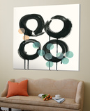 Zen Circles C Posters by Natasha Marie