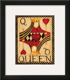 Queen of Hearts Prints by Dan Dipaolo