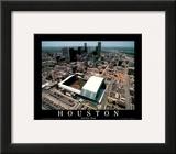 Enron Field - Houston, Texas Framed Art Print