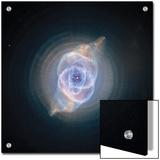 The Cat's Eye Nebula formed as an expiring sun Print by Esa And Nasa