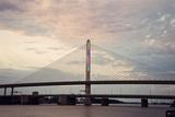 Veterans' Glass City Skyway Bridge Photographic Print by  benkrut