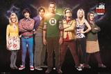 Big Bang Theory Cast Plakáty
