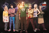 Big Bang Theory Cast Posters