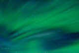 Streaks of Green Auroras Photographic Print by Latitude 59 LLP