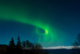 Strong Curled Green Aurora Photographic Print by Latitude 59 LLP