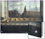 Ripening Pears and the Kremlin Visible Through Lace Curtains Posters by Sam Abell