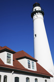 Wind Point Lighthouse Photographic Print by  benkrut