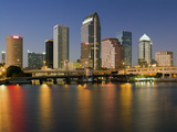 Colorful Downtown of Tampa Photographic Print by  benkrut