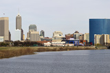 Panoramic Indianapolis Photographic Print by  benkrut