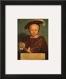 Edward the VI as a Child Prints by Hans Holbein the Younger