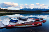 Lake in Jasper National Park Photographic Print by  benkrut